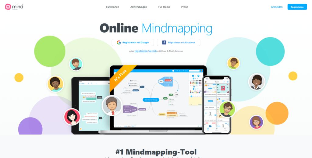 Mindmapping mit Mindmeister aus Deutschland